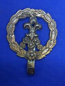 Rare JAMES PAPALIA Original Brass Celtic Floral Brass Wall Hook 1964 Vtg 608-24
