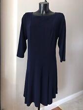 Navy Dress Size L 18 20 22  Plz See Description