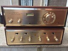 H.H. Scott STEREOMASTER LK-48 Integrated Tube Stereo Amplifier & TUNNER -WORKS!