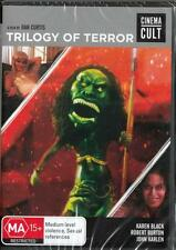 TRILOGY OF TERROR - DAN CURTIS - NEW & SEALED DVD - FREE LOCAL POST