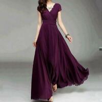 Women Formal Evening Dress Convertible Multi Way Wrap Bridesmaid Long Dresses