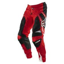Fox Racing Adult 360 Race Off Road MX Pants Bright Red White Black Size 32