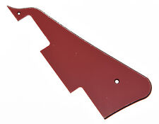 Red 3 Ply LP Guitar Pickguard Scratch Plate For Epiphone Les Paul