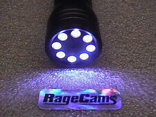 Color Wireless Helmet Camera Fire Fighter Flashlight 640x480 Video Recorder 8Gb
