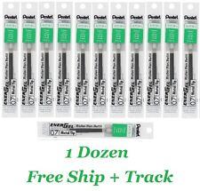0.7mm Green Pentel Energel Roller Pen Refill LR7 Classroom School Note 6,12 pcs