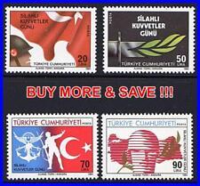 TURKEY 1984 ARMY DAY SC#2287-90 MNH MILITARY
