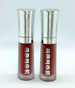 Lot Of 2 Buxom Full On Lip Cream - Hot Toddy - 0.07 oz Each