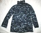 US NAVY NWU GORE TEX COLD WEATHER DIGITAL CAMOUFLAGE PARKA - SMALL LONG