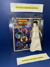 "The Bride Of Frankenstein 8"" Retro Figure Universal Monsters Horror New"