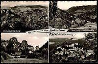 KIRN Nahe 4 Ansichten 1958 Mehrbild-AK ua. Schloss Wartenstein, Kyrburg uvm.