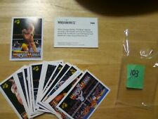1990 Classic Wrestlemania Lot (30) cards #106 to #135