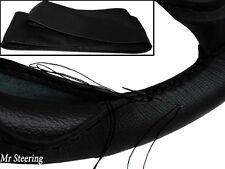 Pour Citroen C4 Mk1 2004-2010 véritable en cuir italien noir volant couvrir de nouveaux