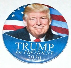 2020 DONALD J. TRUMP pin button pinback president MAGA MAKE AMERICA GREAT AGAIN