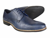 Red Tape Shannon Navy Mens Leather Formal Shoes Free UK P&P RRP £45