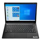 "Evoo 11.6"" Hd Laptop Celeron Intel N4000 64gb 4gb Windows 10 Netbook Black New"