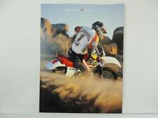1998 Honda XR/XRL XR600R XR400R Motorcycle Dealer Brochure L3056