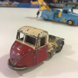 Vintage Budgie Models #240 Red Scammell Scarab 3 WHEELS Truck Parts 1:43 England