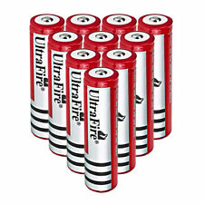 10x 18650 3.7V 4000mAh Li-ion Rechargeable Battery Cell For Torch Flashlight USA
