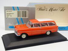 Minichamps 1/43 - Opel Rekord P1 Caravan 1958 Rouge
