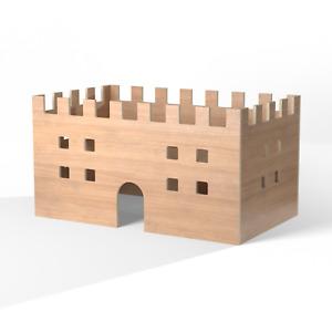 Guinea Pig Castle Indoor Hideout Playhouse