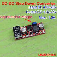 LED Display DC4.5V-28V To 1.3V-25V 6V12V Micro BuckStep Down 122654966303