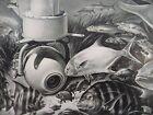 RCA+Radio+TV+Print+Ad+Original+Vtg+1950s+Underwater+Reef+Fish+Susan+Hayward+Cry+