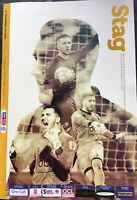 MANSFIELD TOWN V TRANMERE ROVERS 2018/19 MINT