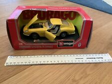 Model Ferrari 275 GTB/4 1966 By Burago. Made In Italy. In Original Box.