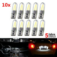 10x T10 Auto Standlicht SMD LED Canbus COB Lampe Weiß 6000K 12V Hot
