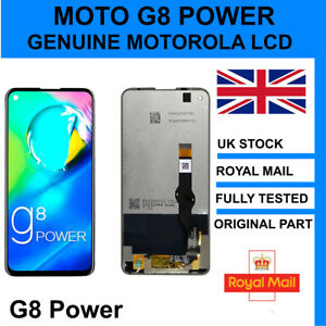 GENUINE ORIGINAL MOTO G8 POWER 2019 LCD SCREEN DISPLAY REPLACEMENT MOTOROLA