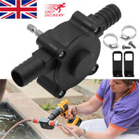 Hand Electric Drill Drive Self Priming Pump Oil Fluid Water Transfer Pumps NEW