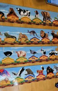 Alphabet Train Floor Puzzle Lg 28 Pc Letters Animals Jigsaw Melissa & Doug Toy