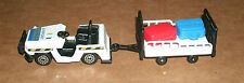 1/64 Scale Airport Luggage Truck And Trailer Unit - Tarmac Baggage Service Cart