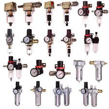 Druckluft Wartungseinheit Druckminderer Öler Filter für Kompressor 1/2 1/4 Kuppl