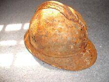 Original 1915 French Adrian Helmet, Relic Condition, from Battlefield of Verdun