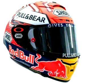 X14 X-Spirit 3 Motorcycle Full Face Helmet Red Bull Marc Marquez Moto GP Racing