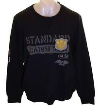 Bnwt Hommes CHRISTIAN AUDIGIER Sweat Gold Standard Medium Small Noir