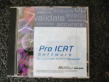 Applied Biosystems Mds Sciex Pro Icat Software 028450sw100 Qstar Xl Hybrid