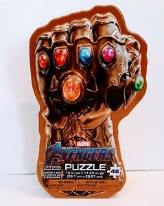 Marvel's Avengers: Infinity War Gauntlet Tin with Surprise Puzzle & Infinity Gem