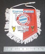 FOOTBALL FANION 1984 WIMPEL PENNANT FC BAYERN MÜNCHEN MUNICH RFA DEUTSCHLAND