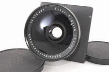 Read Schneider Kreuznach Super - Angulon 90mm f 5.6 Lens w/compur *12115491