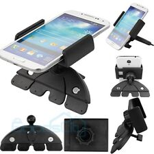360° CD Slot Car Stereo Smart Phone Mount Cradle Holder For Cell Phones GPS