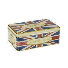 Retro Union Jack Fine English Tea Tin - 100 Teabags