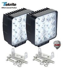 TEKRITE LED SPOT Beam/Worklight For Off Road Car, 2 Pcs.  2800 Lumens, WaterPoof