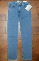 Lacoste Men's Slim Fit Deep Medium Blue Stretch Cotton Denim Jeans W42 L34