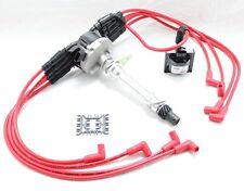 Vortec Distributor Red 8.5mm Spark Plug Wires Coil 1996-2001 Chevy 5.0L 5.7L V8