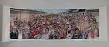 100 Most Iconic People Indianapolis 500 Poster Collector Anniversary Poster IMS