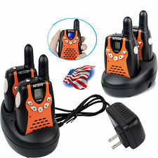 4xRetevis Rt-602 0.5W Kids Walkie Talkie Uhf 22Ch 5 Call tones Two-Way Radio Us