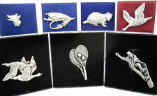 Sports Collectable Pewter Badges