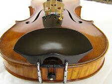 Musaica Violin Chinrest Hand-made Flesch Original w/ Hump 26 mm Ebony, accessory